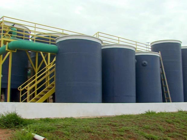 Cambuquira passa a ser abastecida pela Copasa (Foto: Reprodução EPTV)