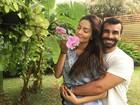 Laura Keller planeja casório no Brasil: 'Quero o Falabella como padrinho'