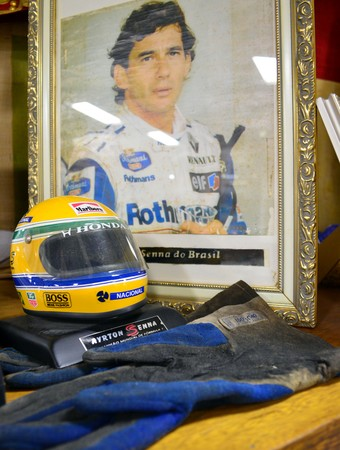 Milagres de Aparecida - Ayrton Senna (Foto: Danilo Sardinha/Globoesporte.com)