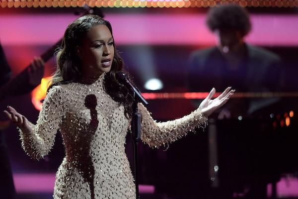 A cantora Rebecca Ferguson (Foto: Getty Images)