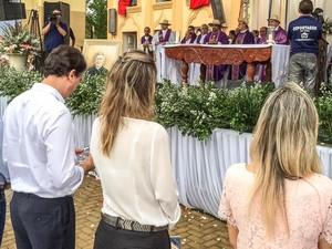 Missa pela reconciliação da Igeja Católica com o Pe. Cícero (Foto: Governo do Estado/Divulgação)