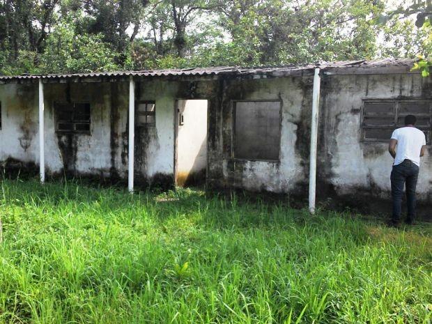 Local onde suspeito levou as duas vítimas (Foto: Divulgação/Polícia Militar)