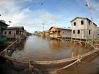 Cidades atingidas pela cheia passam por obras de recuperação no AM