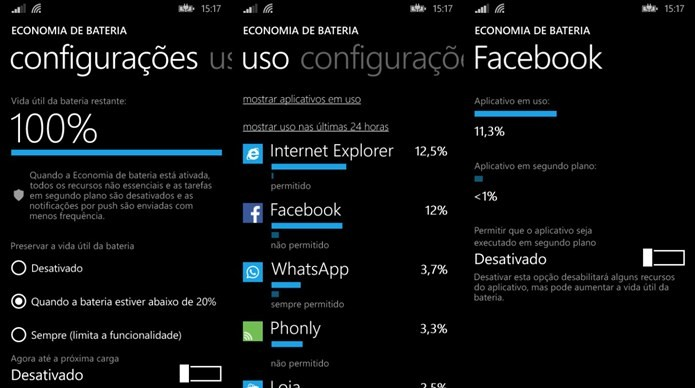 Desative os apps que você não costuma usar muito (Foto: Dario Coutinho / Reprodução)