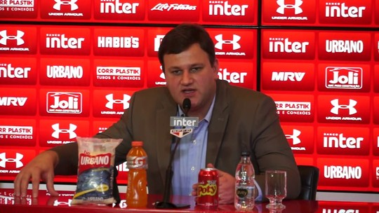 Walter, Marcos Rocha, Sasha... Diretor do São Paulo desconversa sobre negociações