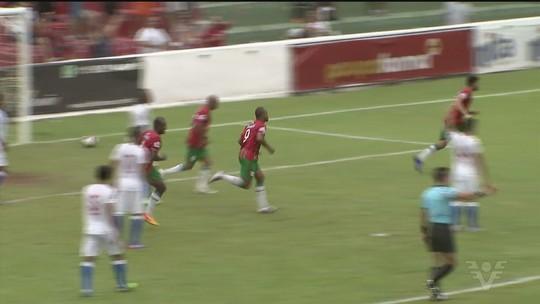 Em grande jogo, Portuguesa Santista e Nacional-SP ficam no empate pela A-3