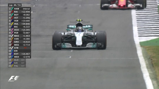"""Bottas """"sortudo"""" e Ricciardo """"em dia de Hamilton"""": os destaques em Silverstone"""