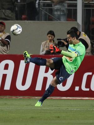 Fábio, goleiro do Cruzeiro - Atlético-MG x Cruzeiro (Foto: Gualter Naves/VIPCOMM)