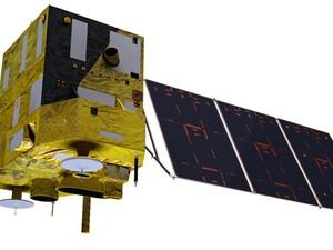 Imagem do Cbers-3, que terá vida útil de 3 anos e vai fornecer imagens ao Brasil, China e outros países parceiros (Foto: Divulgação/Inpe)