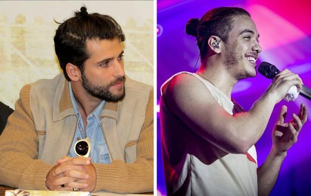 Bruno Gagliasso / Wesley Safadão (Foto: Alex Palarea/AgNews - Repodrução/Instagram)