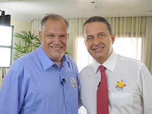 O Prefeito de Petrópolis, Rubens Bomtempo, era amigo pessoal de Campos (Foto: Divulgação/PSB Petrópolis)