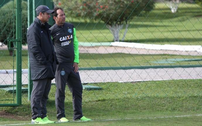 Marquinhos Santos e Alexandre Lopes Coritiba (Foto: Divulgação Coritiba)