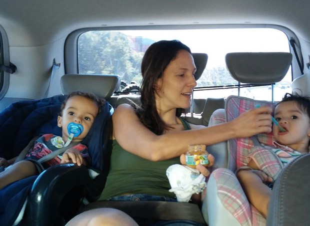 Viagem com crianças: nada é fácil (Foto: Arquivo pessoal/ Paola Lobo)