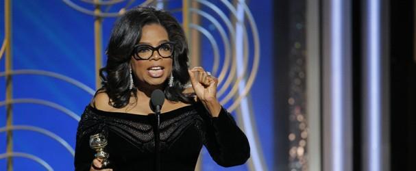 Oprah Winfrey no Globo de Ouro (Foto: Getty Images)