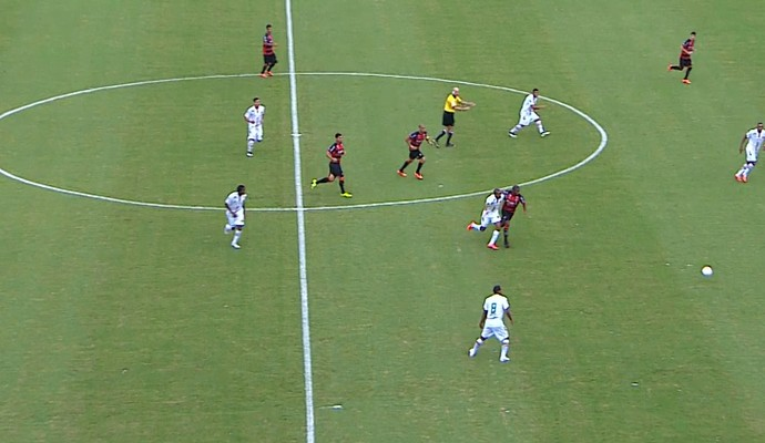 Sampaio joga no barradão contra Vitória (Foto: Reprodução/ TV Mirante)