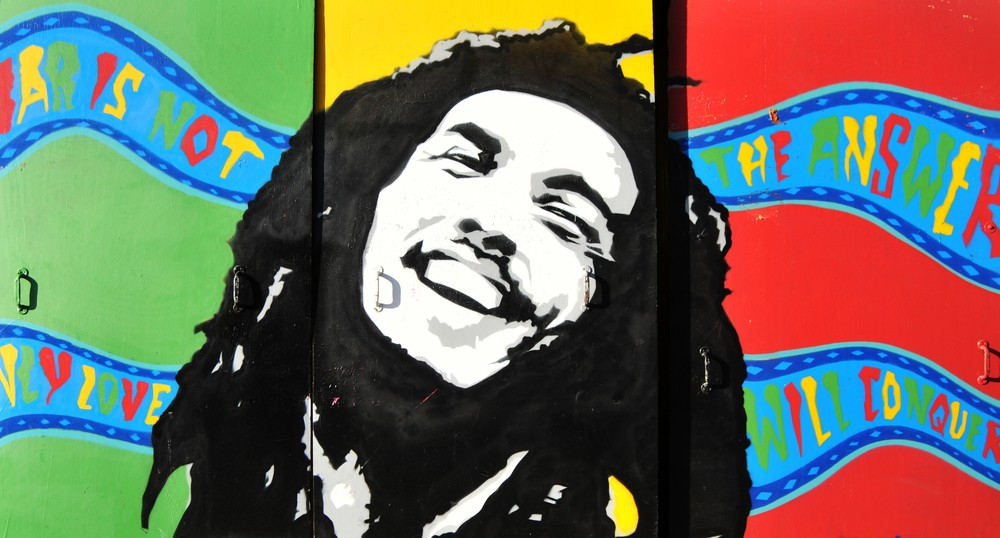 Bob Marley, maior referncia do Reggae,  uma tima pedida para embalar as sesses de surfe (Foto: Shutterstock)