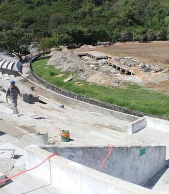 CT Bósnia Estádio Tonhão Fernandes Guarujá (Foto: Divulgação)
