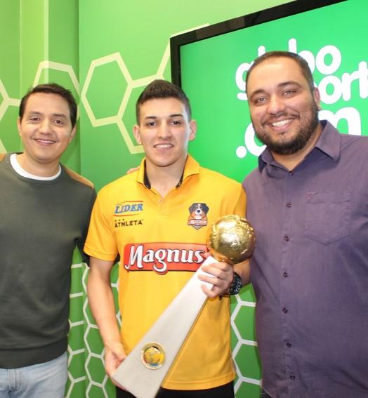 tá no ar! (Luiz Ferreira / TV TEM)