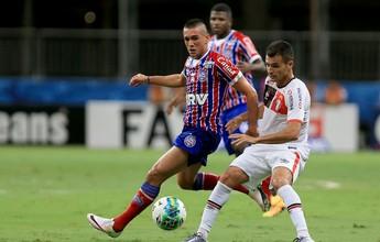 Juninho recebe terceiro cartão amarelo e desfalca Bahia contra Vasco