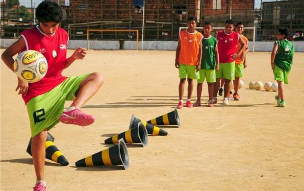 Bom de Bola (Foto: Michael Dantas/Sejel)