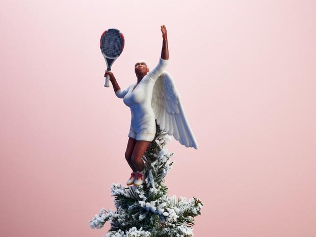 Miniatura de Serena Williams (Foto: Reprodução)