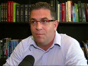 Pedrinho Eliseu desiste da disputa em Araras (Foto: Reprodução/EPTV)