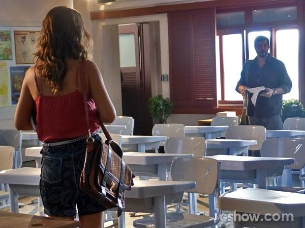 Bárbara deixa carta para Virgílio (Foto: Malhação / TV Globo)