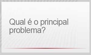 Qual é o principal problema? (Foto: G1)