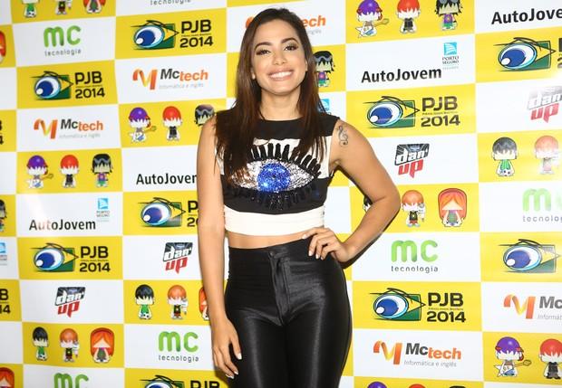 Anitta em premiação em São Paulo (Foto: Iwi Onodera / EGO)