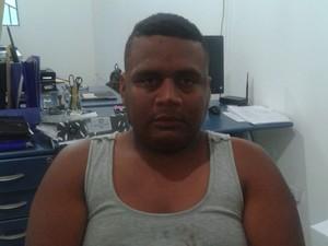 Elvis Geovanny Manrique Marcano foi preso em Pacaraima por suspeita de tentativa de assalto a uma loja (Foto: Divulgação/Polícia)