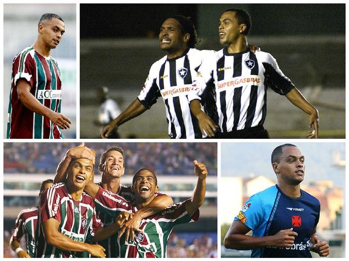 Dodô, clubes do Rio (Foto: GloboEsporte.com)