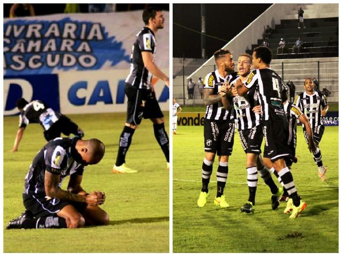 Retrospecto é motivacional para ABC e Ceará neste momento (Foto: Arte GloboEsporte.com)
