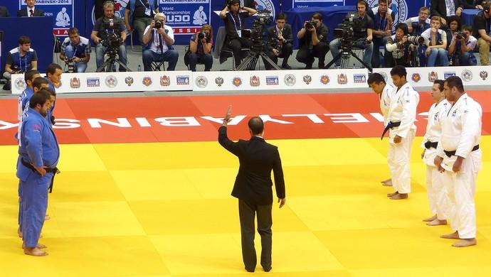 luta Brasil judô contra Georgia Bronze Mundial derrota (Foto: Raphael Andriolo)