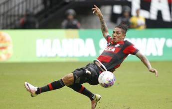 Blindagem e escassez de gols: a luta de Guerrero em 300 dias de Flamengo