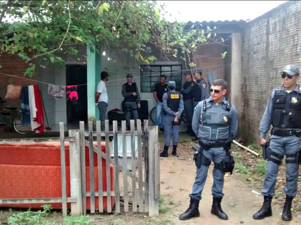 Duas pessoas foram mortas em uma residência em Sinop (Foto: Cleidinaldo José/ Arquivo pessoal)