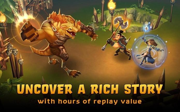 Um RPG com muita ação e uma boa história (Foto: Divulgação)