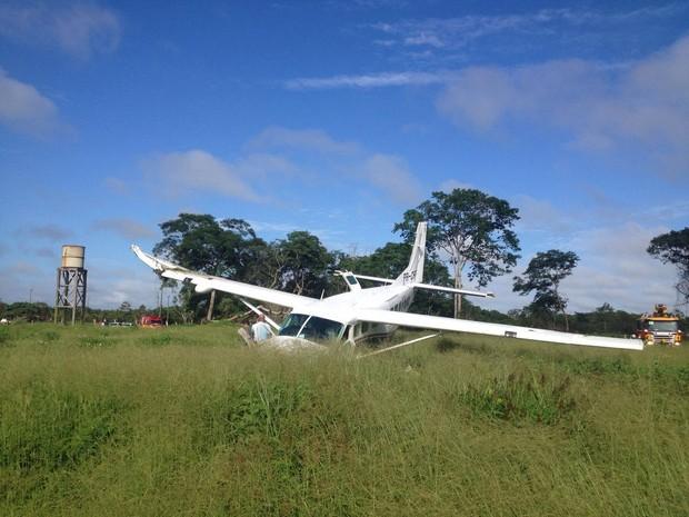 avião macapá monomotor amapá (Foto: Fabiana Figueiredo/G1)