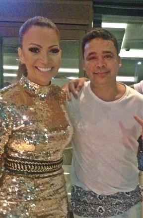 Solange Almeida e Riquelme  (Foto: Reprodução/Instagram)