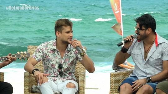 Israel Novaes e Guto Ribeiro fazem dueto no Se Liga VM de Férias