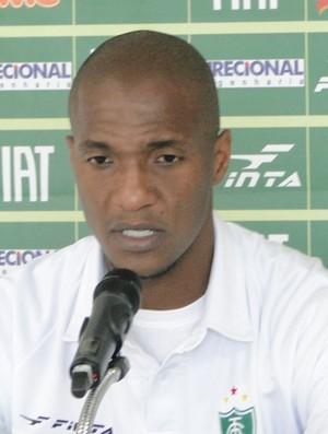 Gilberto, meia do América-MG (Foto: Gabriel Medeiros / Globoesporte.com)
