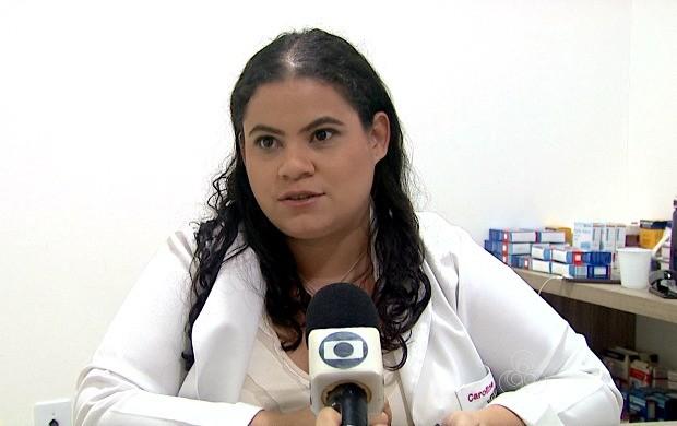 Médica Caroline Formiga afirma que psicoterapia é o tratamento mais recomendável (Foto: Bom Dia Amazônia)