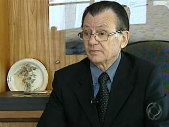 José Joaquim Ribeiro, prefeito de Londrina (Foto: Reprodução/RPC TV)