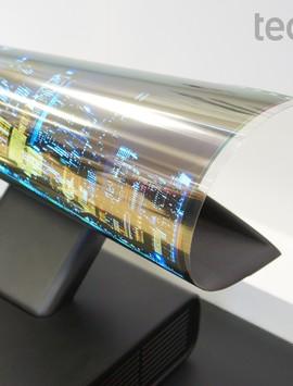 TV flexível da LG impressiona pela beleza e qualidade de imagem