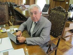O vice-governador Afif Domingos, que apresentará PPPs em Londres (Foto: Márcio Pinho/G1)