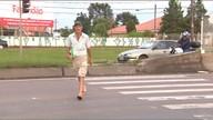 Moradores de Curitiba reclamam da falta de sinalização, em cruzamento do Pilarzinho