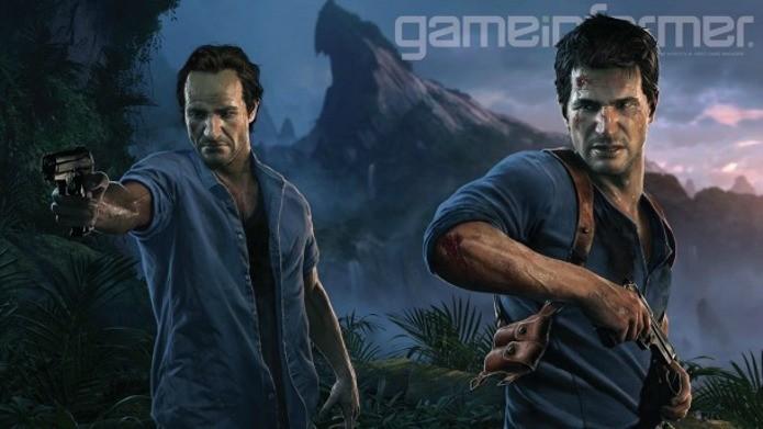 Uncharted 4: A Thiefs End contará história de rivalidade entre irmãos Drake (Foto: Reprodução/GameInformer)