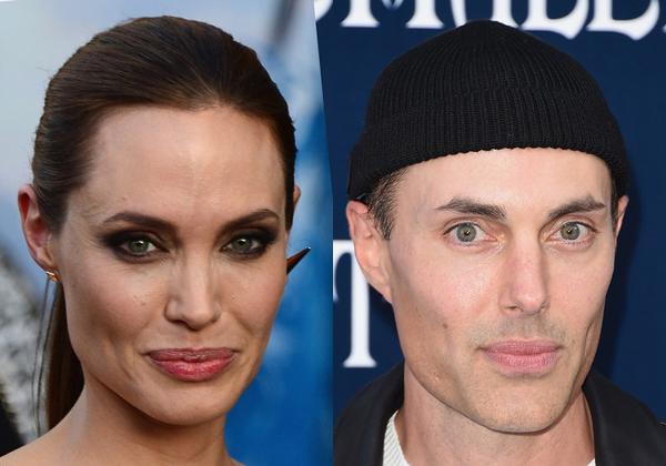 Angelina Jolie & James Haven (Foto: Divulgação)