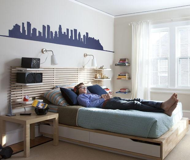 Metalizados para quartos de jovens (Foto: Reprodução)