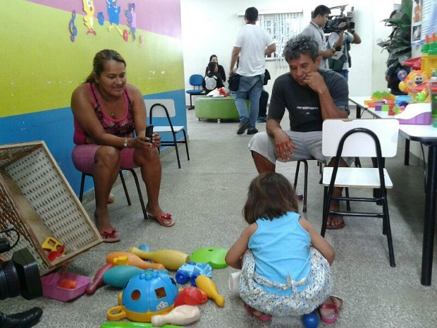Criança foi encontrada e voltou para os pais nesta quarta-feira (25) (Foto: Alírio Lucas/G1 AM)