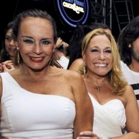 As irmãs Suzana Gonçalves e Susana Vieira (Foto: Reprodução da internet)
